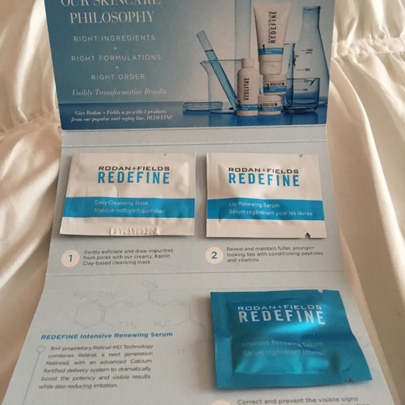 Rodan and Fields Redefine Mini Trial Set NWT